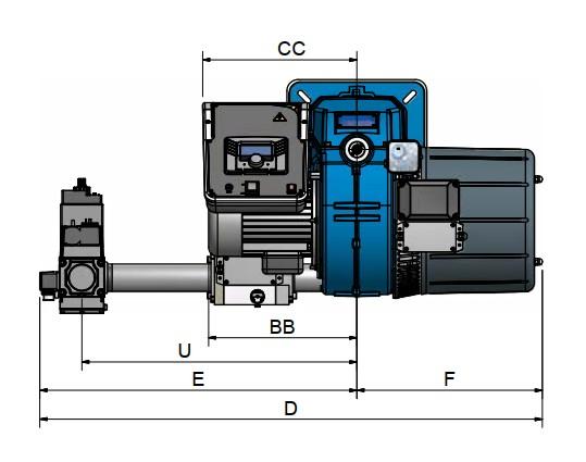 dimensiuni FACILE FC120A - 1