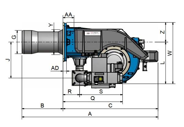 dimensiuni FACILE FC120A - 2