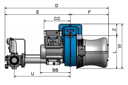dimensiuni FACILE FE140A - 1