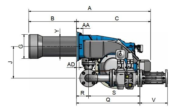 dimensiuni FACILE FE140A - 2