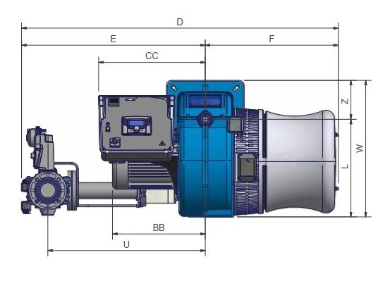dimensiuni FACILE FG267A - 1