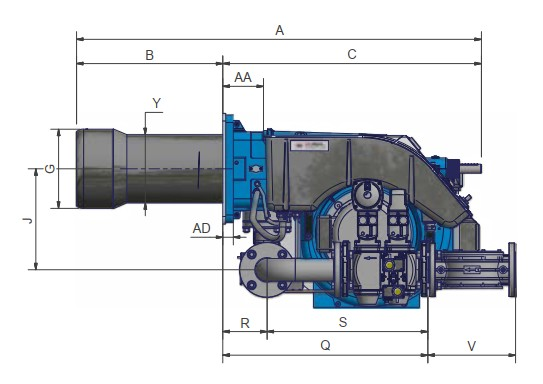 dimensiuni FACILE FG267A - 2